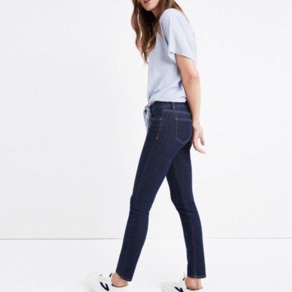 CLEARANCE Madewell Skinny Skinny Jeans Dark Wash